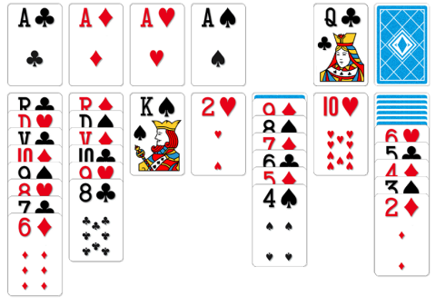 How to Play Klondike Solitaire Cards Game
